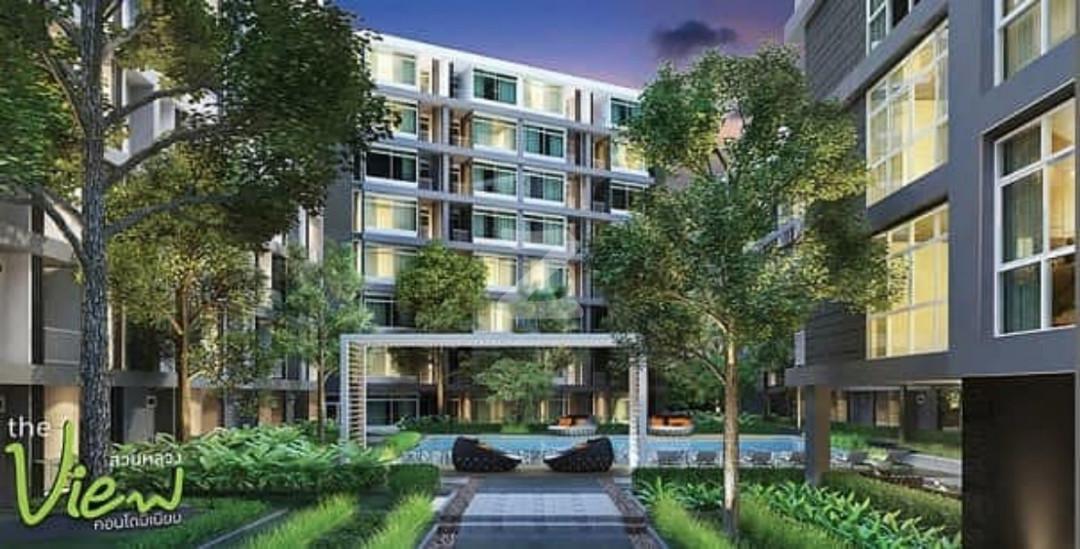 เดอะ วิว คอนโดมิเนียม สวนหลวง The View Condominium Suanluang